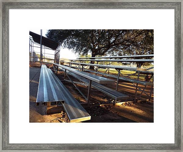 Bleachers Framed Print
