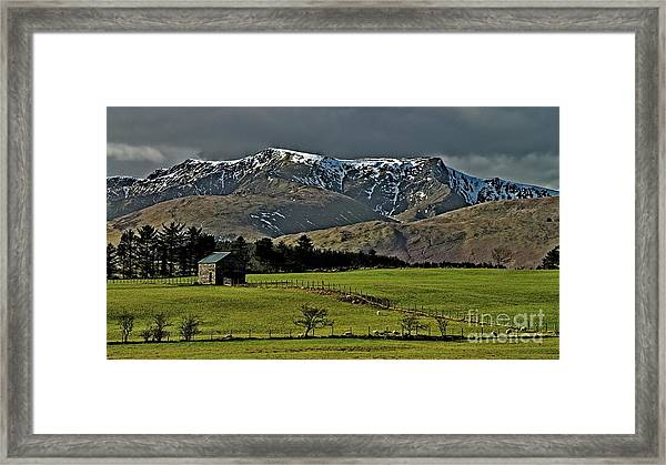 Blencathra Mountain, Lake District Framed Print