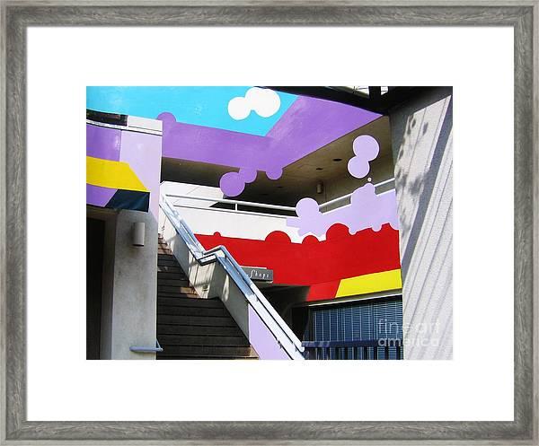 Blending Fiction And Reality Framed Print by Takayuki  Shimada