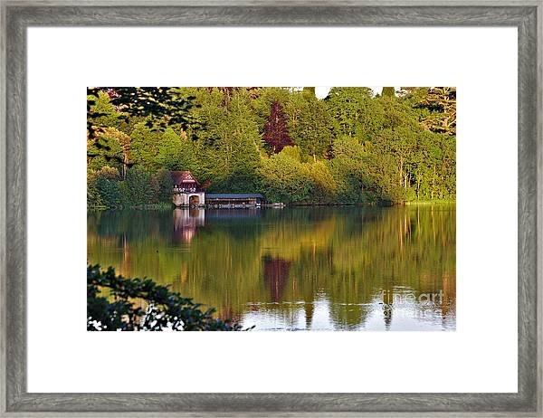Blenheim Palace Boathouse 2 Framed Print
