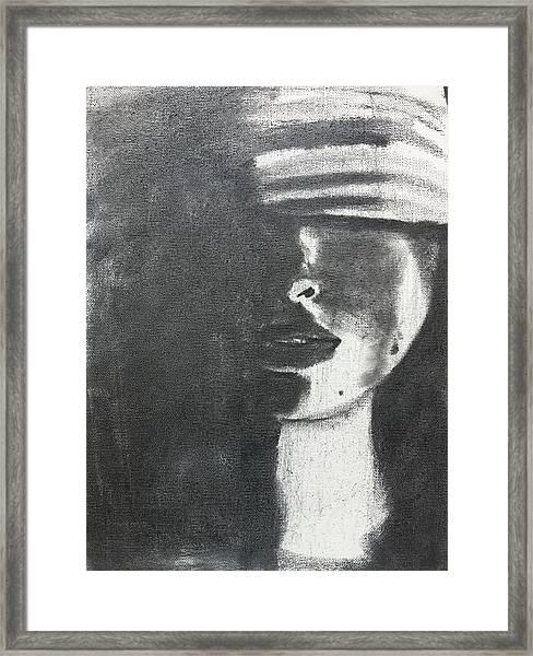 Blind Justice Framed Print