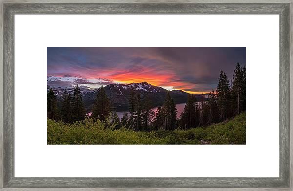 Blinding Light Framed Print