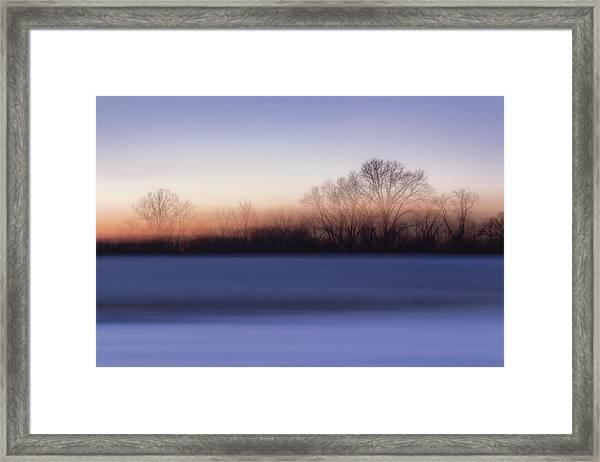 Blink Color Framed Print