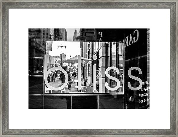 Bliss Framed Print