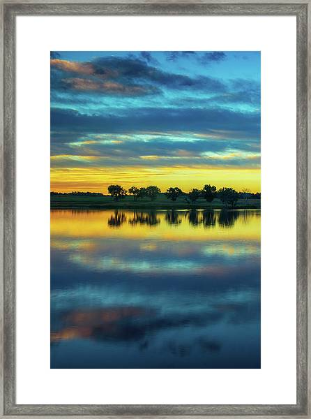 Framed Print featuring the photograph Bliss by John De Bord