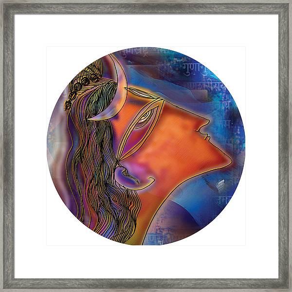 Bliss Shiva Framed Print