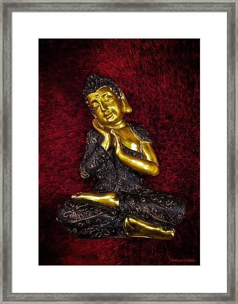 Blissful Mind Framed Print
