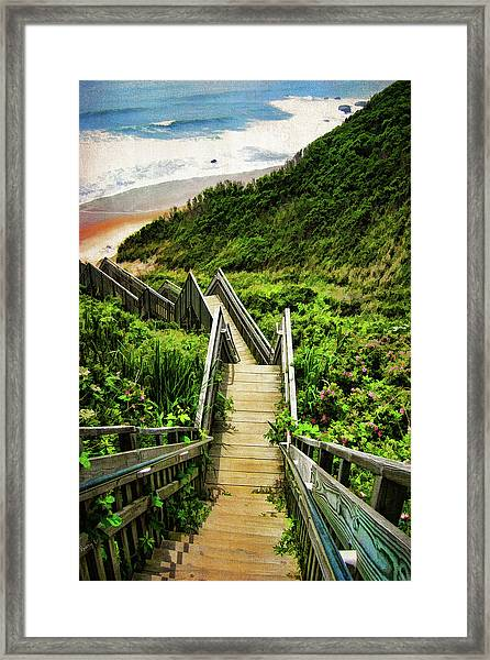 Block Island Framed Print