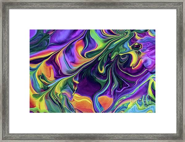 Block Rockin' Framed Print