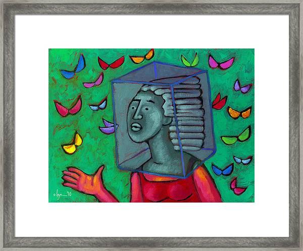 Blocked Framed Print