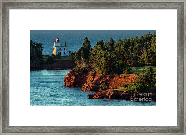 Blockhouse Point Lighthouse Framed Print