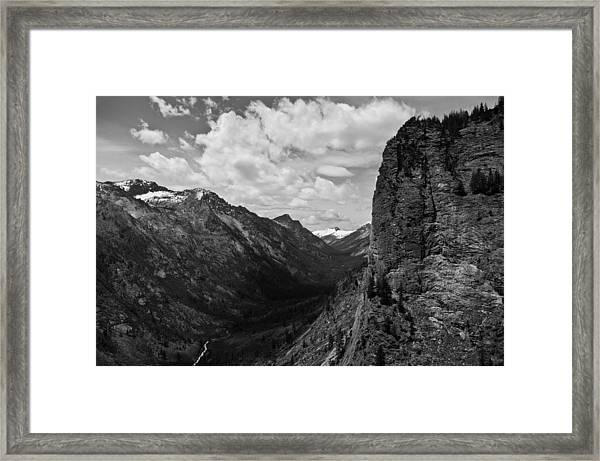 Blodgett Canyon Framed Print