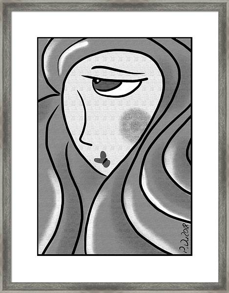 Blondi Conte Framed Print