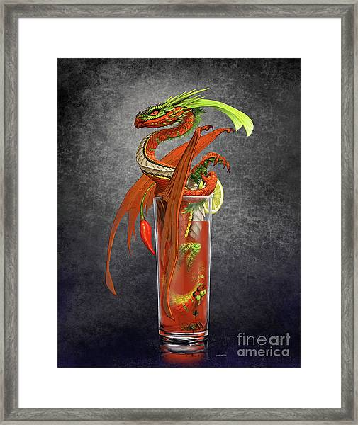 Bloody Mary Dragon Framed Print