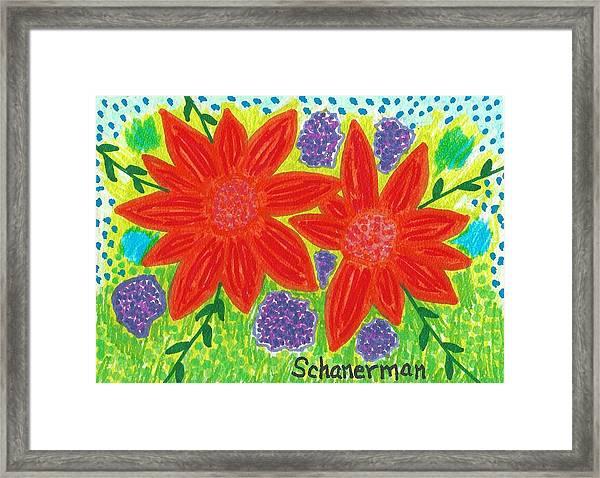Bloomin' Blossoms Framed Print