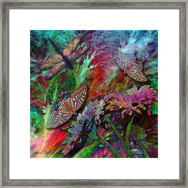 Blooming Color Framed Print