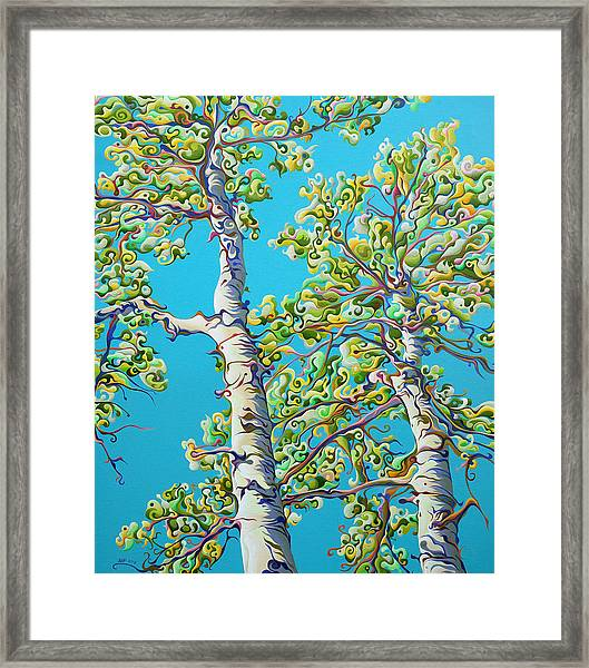 Blossoming Creativitree Framed Print