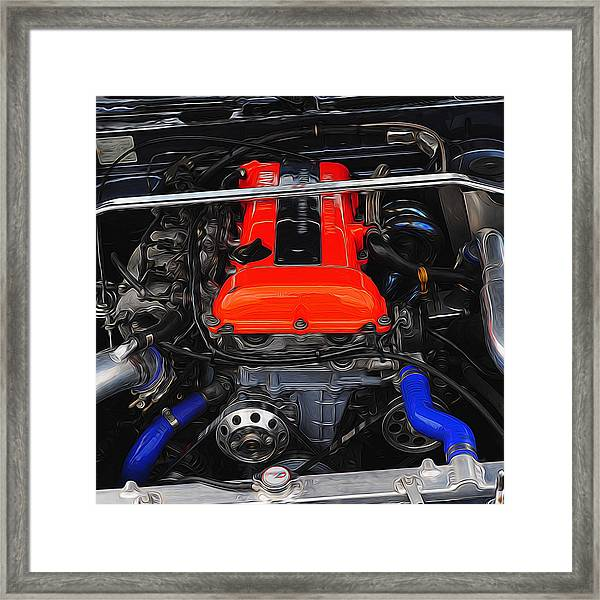 Blown Nissan Framed Print