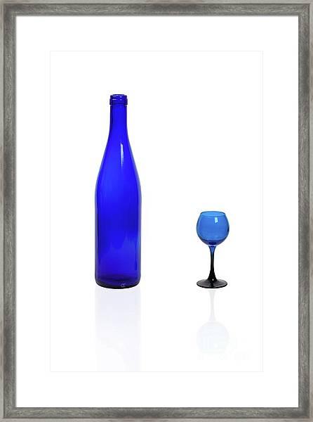 Blue  #2438 Framed Print