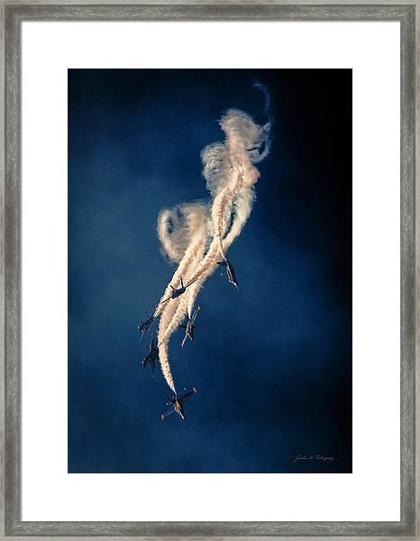 Blue Angels Breakout Framed Print
