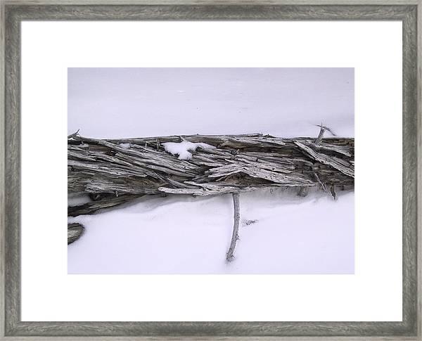 Blue Banff-14 Framed Print by Kevin Callahan