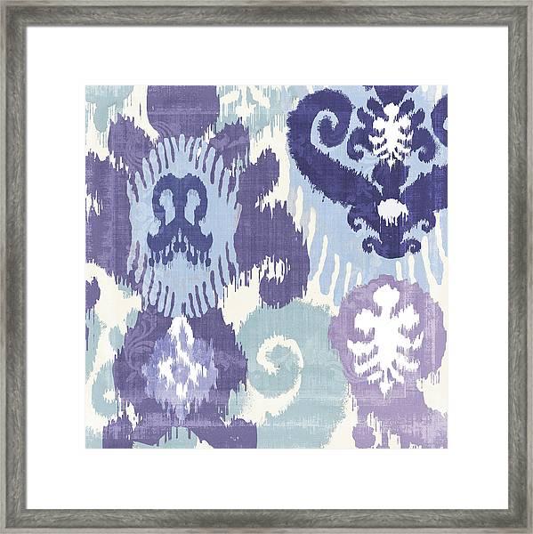 Blue Curry I Framed Print