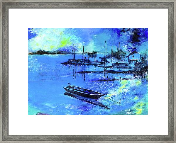 Blue Dream 2 Framed Print