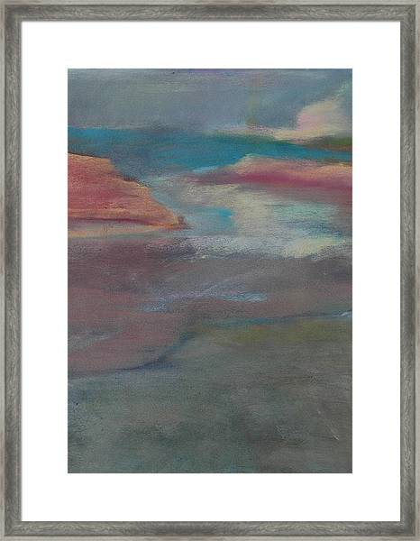 Blue Dune Framed Print