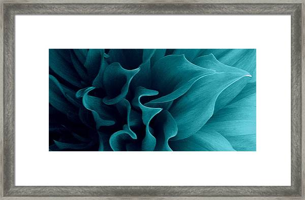 Blueflow Framed Print