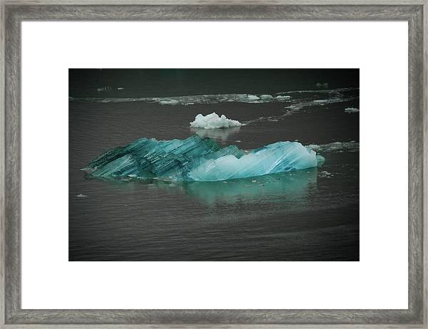 Blue Iceberg Framed Print