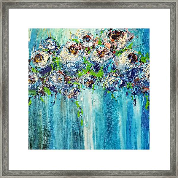 Blue Illusion Framed Print