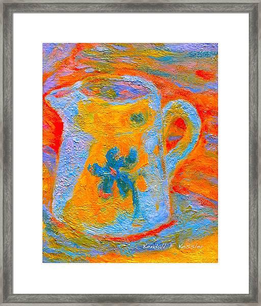 Blue Life Framed Print