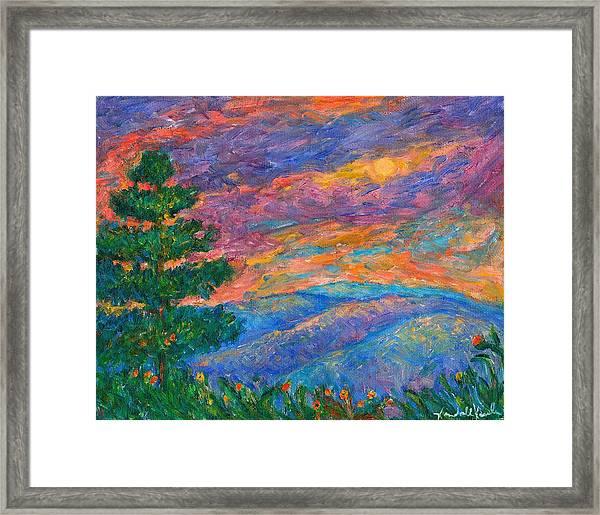 Blue Ridge Jewels Framed Print