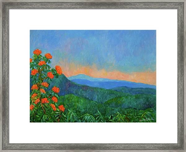 Blue Ridge Morning Framed Print