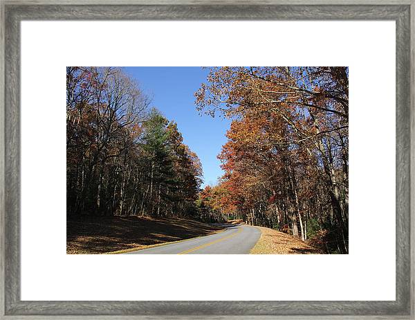 Blue Ridge Parkway Framed Print