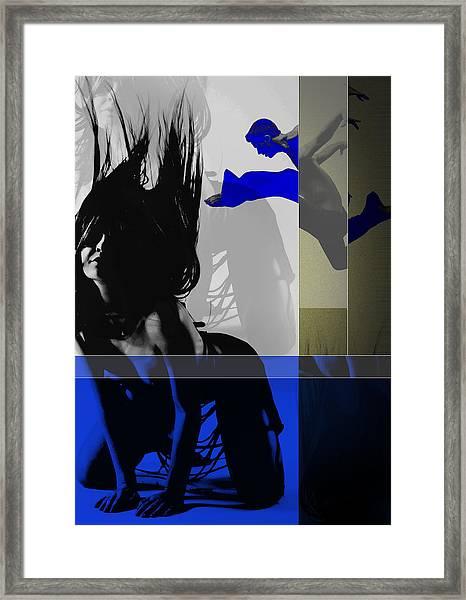 Blue Romance Framed Print