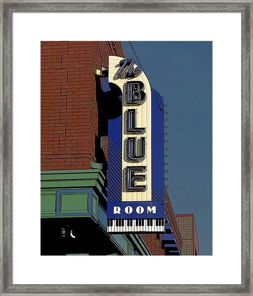 Blue Room Framed Print