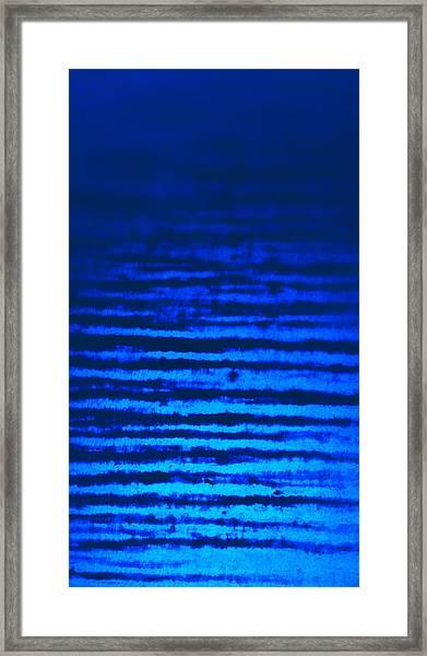 Blue Sea Dream Framed Print