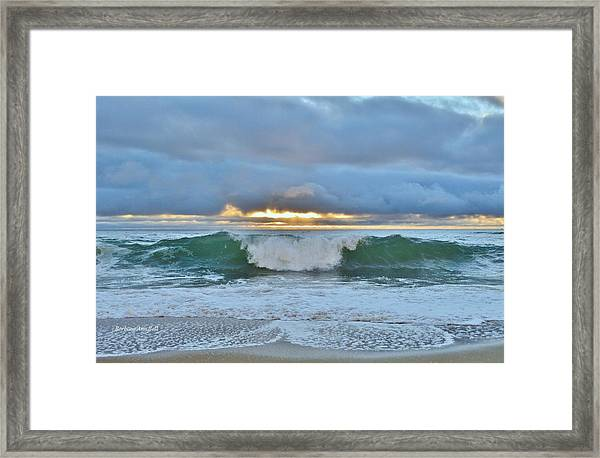 Blue Skys 2016 Framed Print