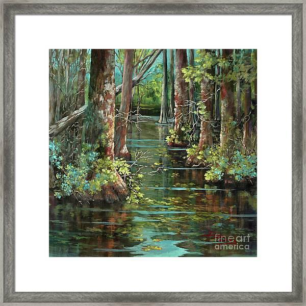 Bluebonnet Swamp Framed Print