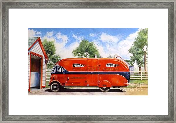 Bluegrass Memories Framed Print