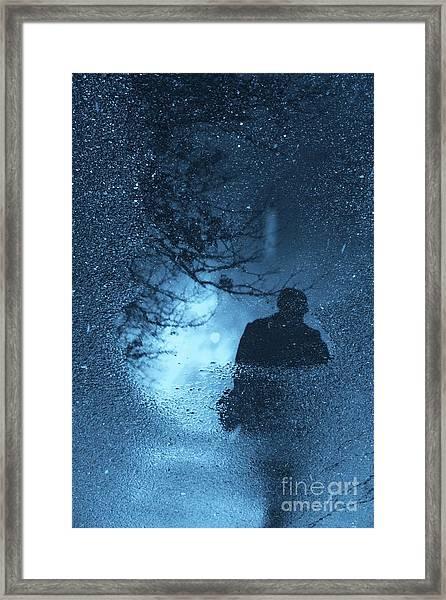 Bluemanright Framed Print
