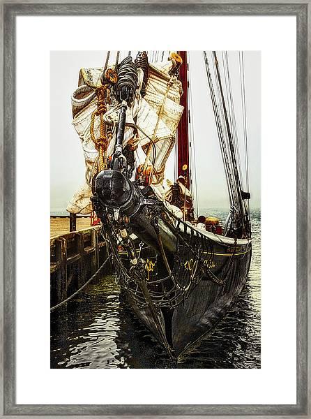 Bluenose II - Nova Scotia, Canada Framed Print