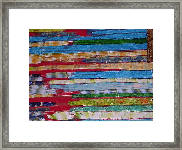 Blues In Transition Framed Print by Russell Simmons