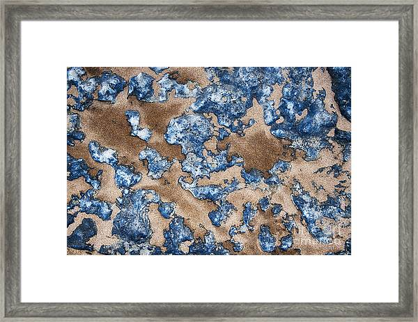 Bluestone Framed Print
