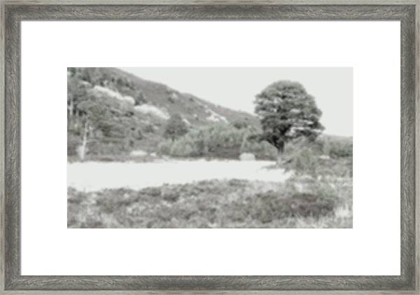 Framed Print featuring the photograph Blur by HweeYen Ong