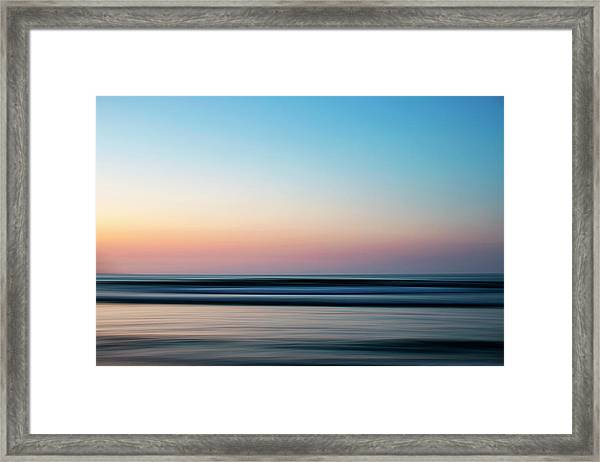 Blurred Framed Print
