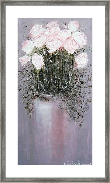 Blush - Original Artwork Framed Print