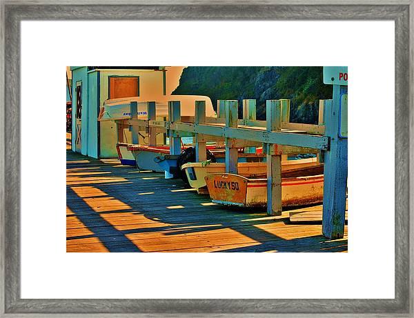 Boat Ride Framed Print