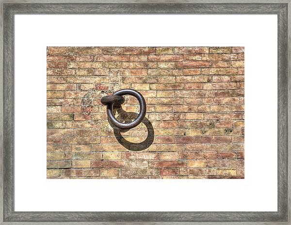 Boat Ring Framed Print